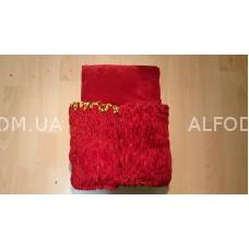 Оббивка велюр (30см) а/б (красный)