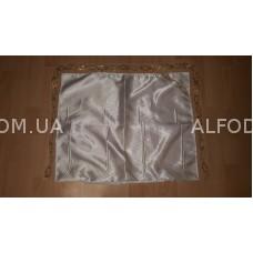 Наволочка атлас кр.1 (белый) (50*60)-( 10 шт)