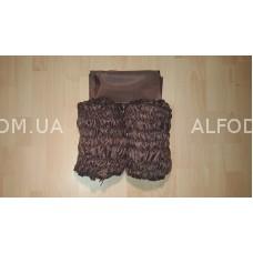 Оббивка шёлк (33 см) простая (коричневый)