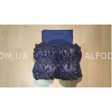 Оббивка шовк (33см) простая (синий) ретро