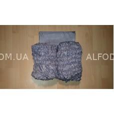 Оббивка шёлк (33 см) простая (сталь)