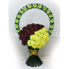 К. Безбукетный (Украшеный) роза.